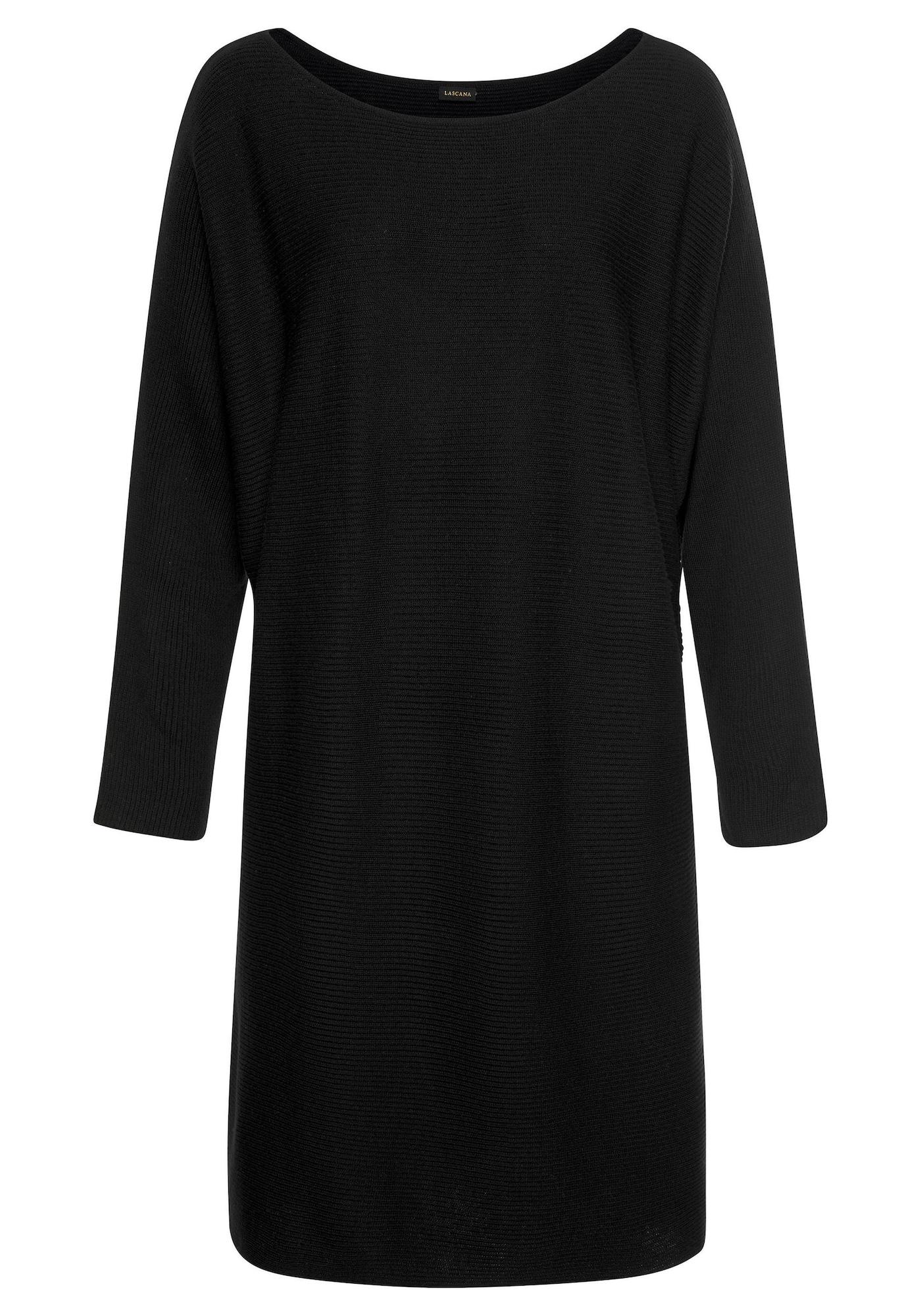 LASCANA Šaty  černá
