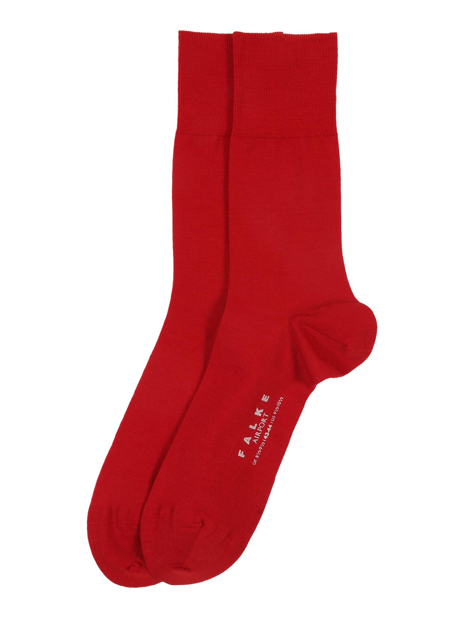 Ponožky Airport červená FALKE
