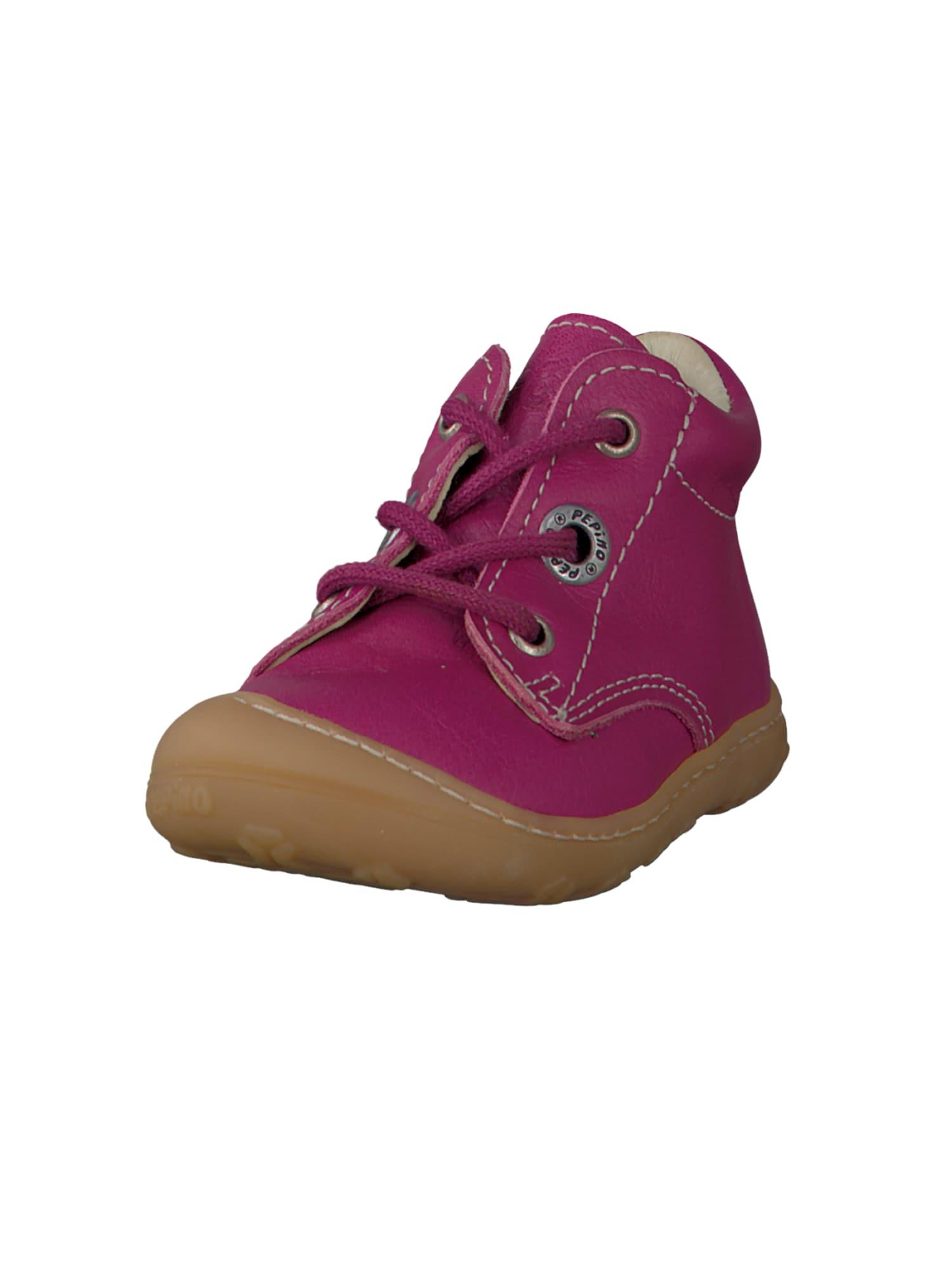Botičky pro první krůčky CORY hnědá pink Pepino