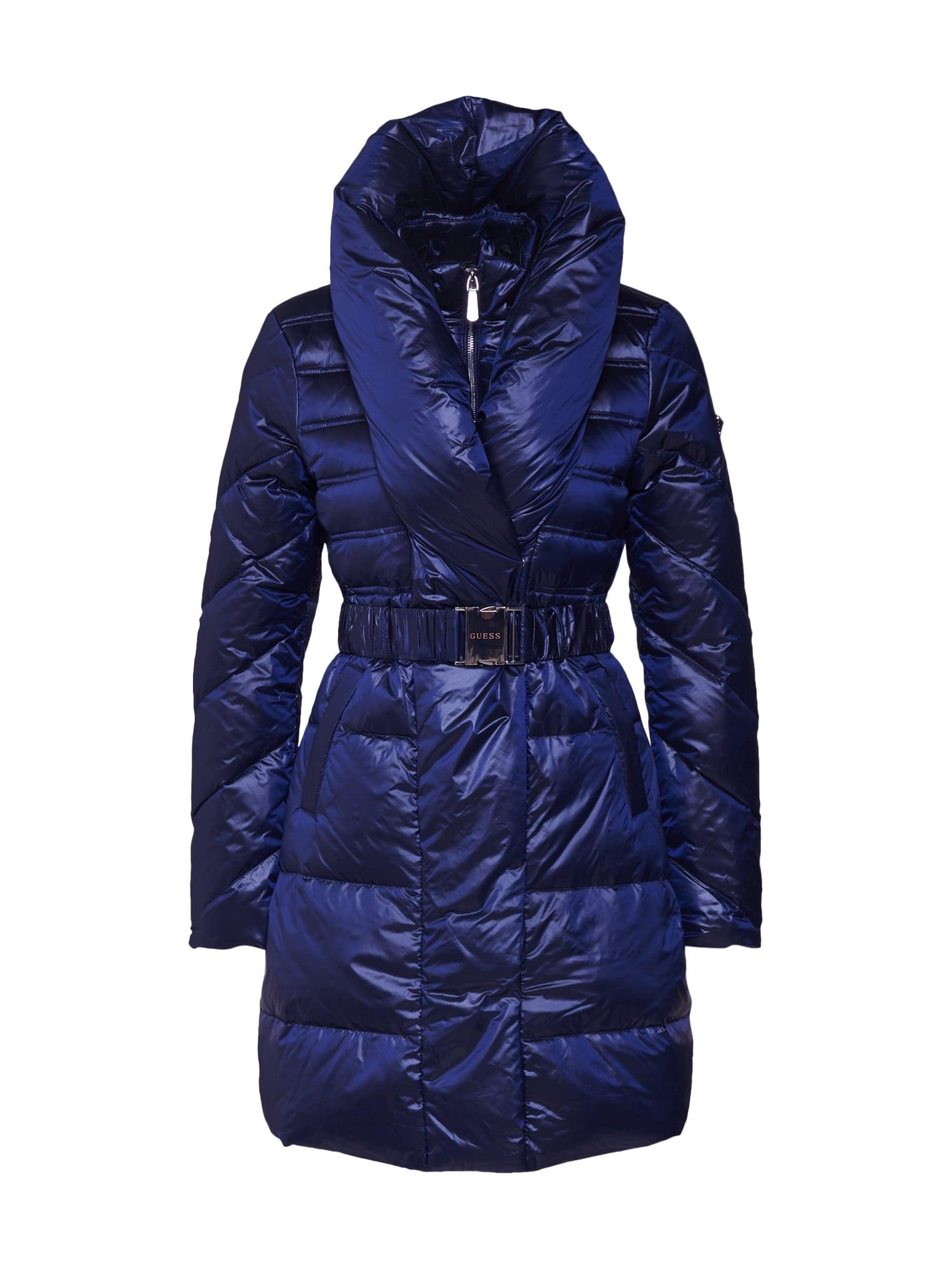 GUESS Zimná bunda 'HISTY'  modrá