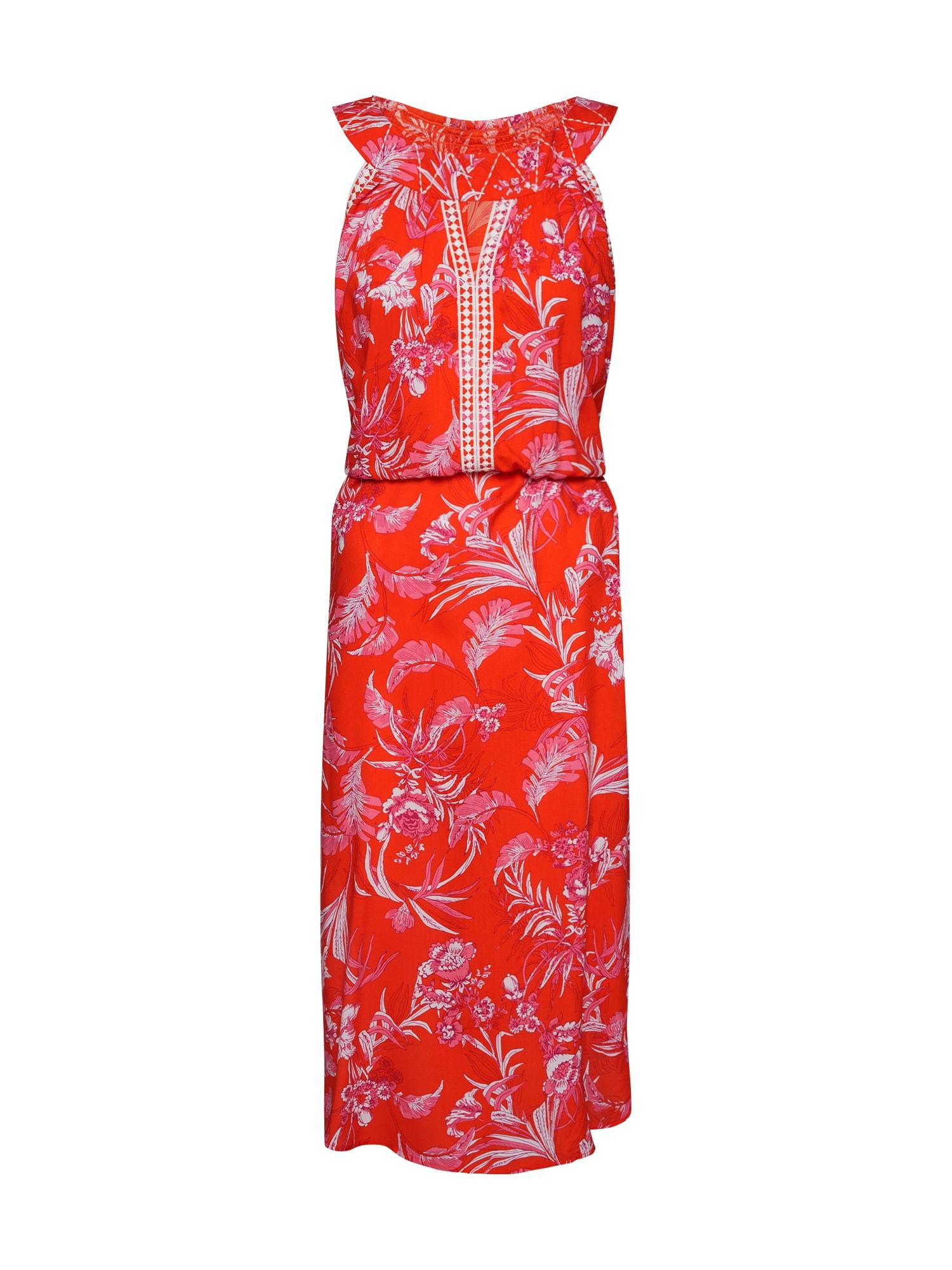 Letní šaty summer goddess robe fialová mix barev červená Blutsgeschwister