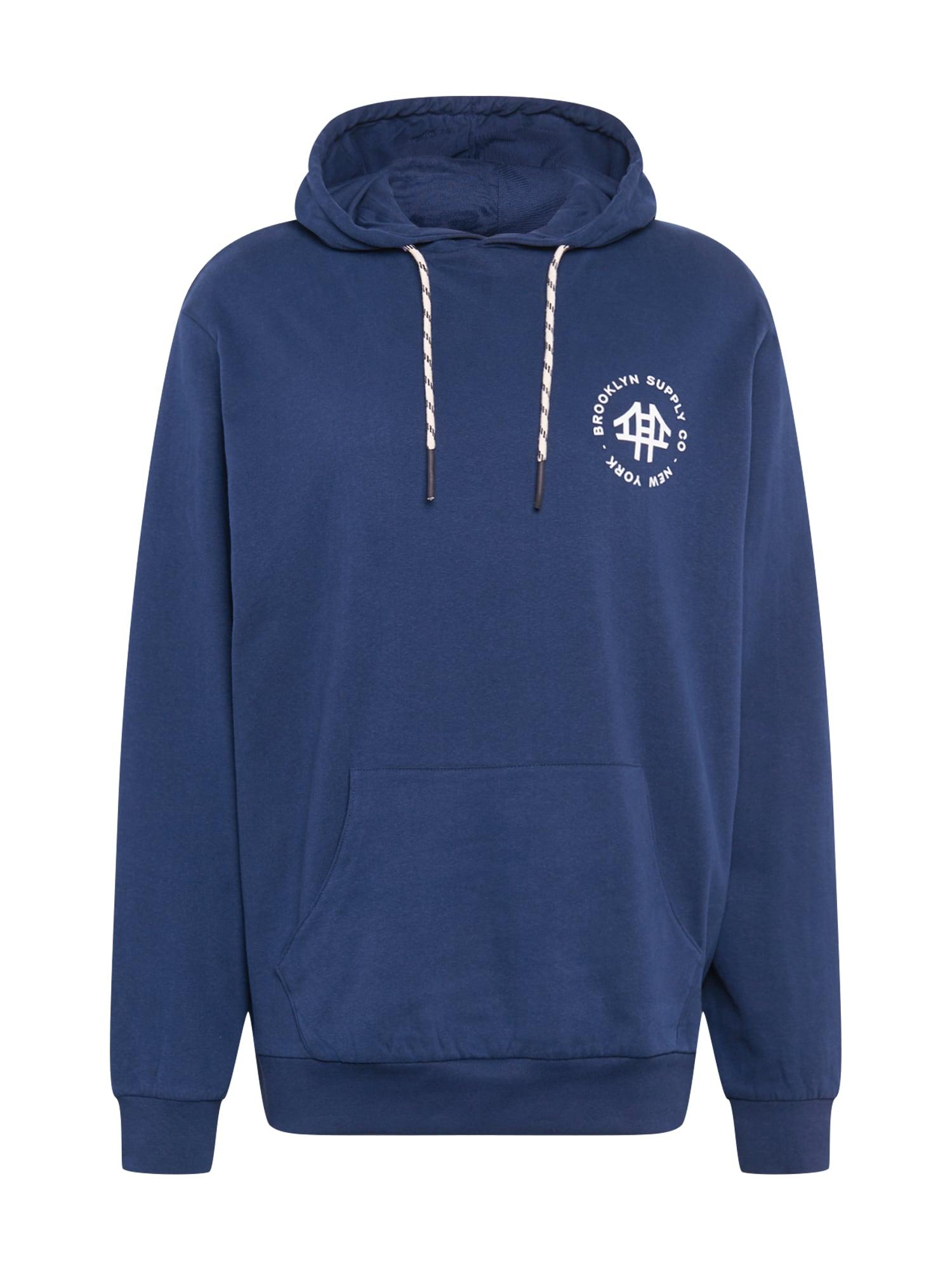 Brooklyn Supply Co. Megztinis be užsegimo tamsiai mėlyna