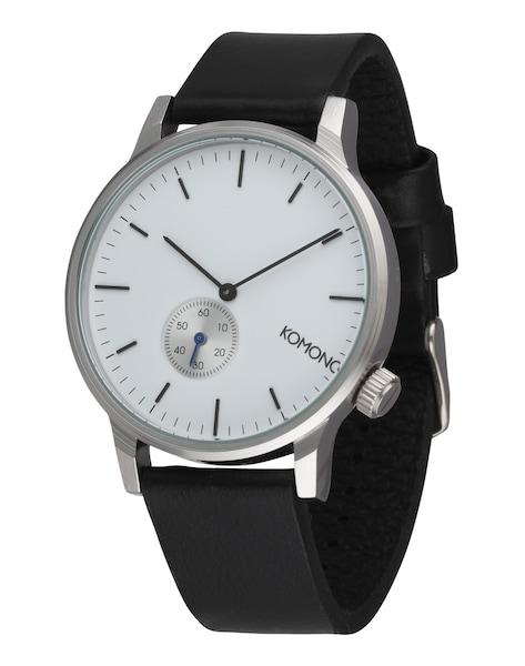 Uhren für Frauen - Komono Armbanduhr 'Winston Subs' schwarz silber  - Onlineshop ABOUT YOU