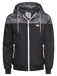 Iriedaily Herren Übergangsjacke Insulaner P Jacket grau,schwarz | 04049506904142