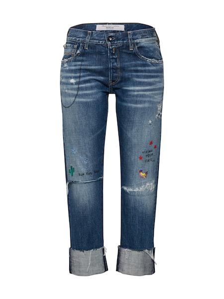 Hosen für Frauen - REPLAY Hose 'Joplyn' blue denim  - Onlineshop ABOUT YOU