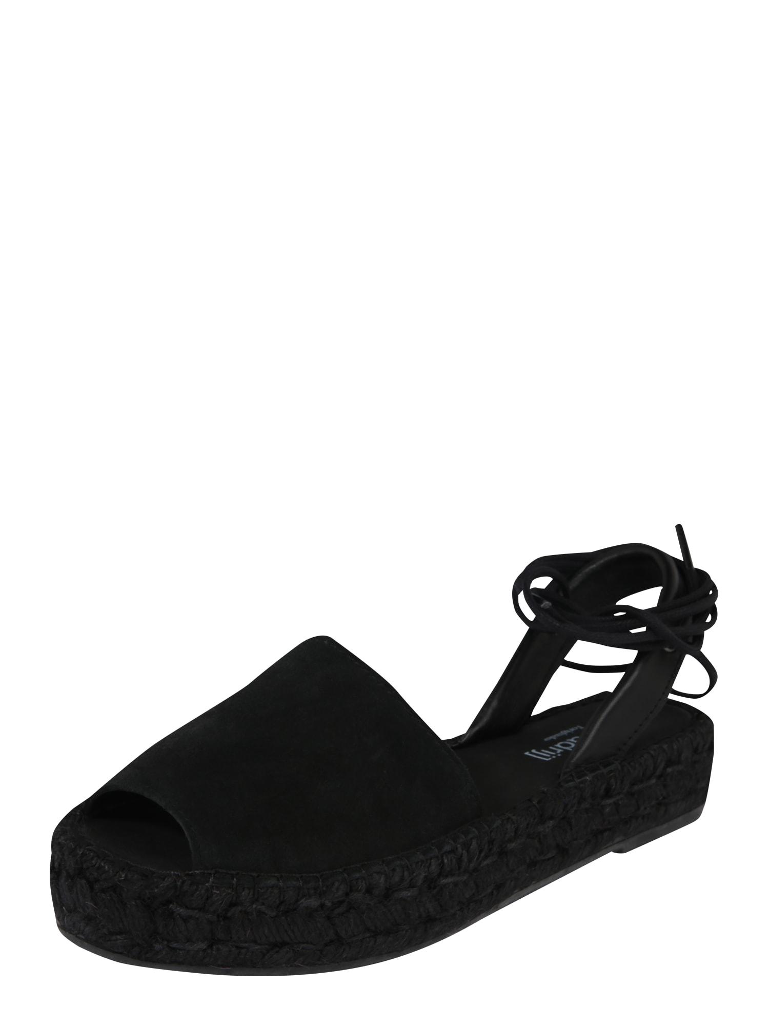 espadrij l´originale Sandalai 'Mimizan Noir' juoda