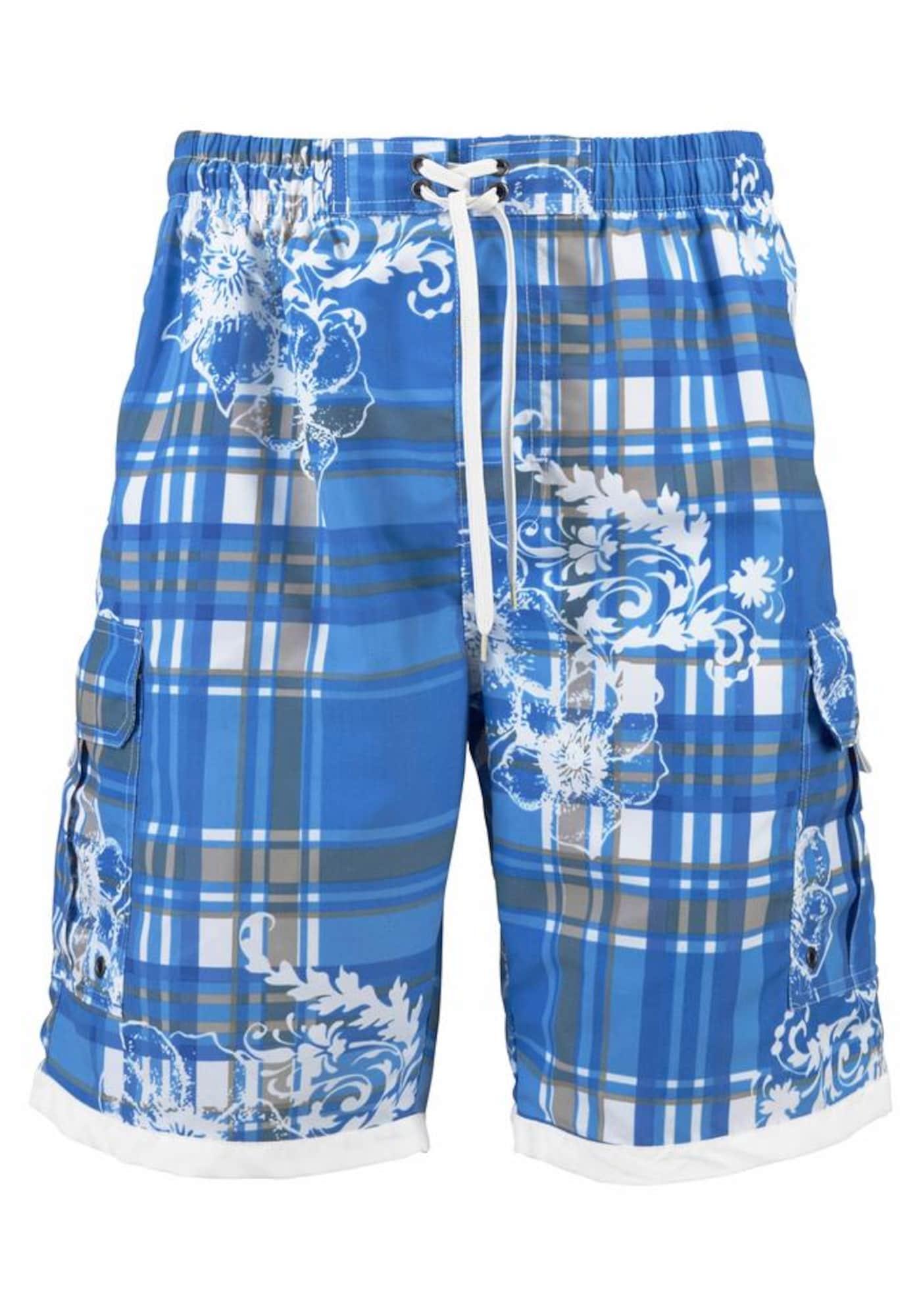 H.I.S Plavecké šortky  kráľovská modrá