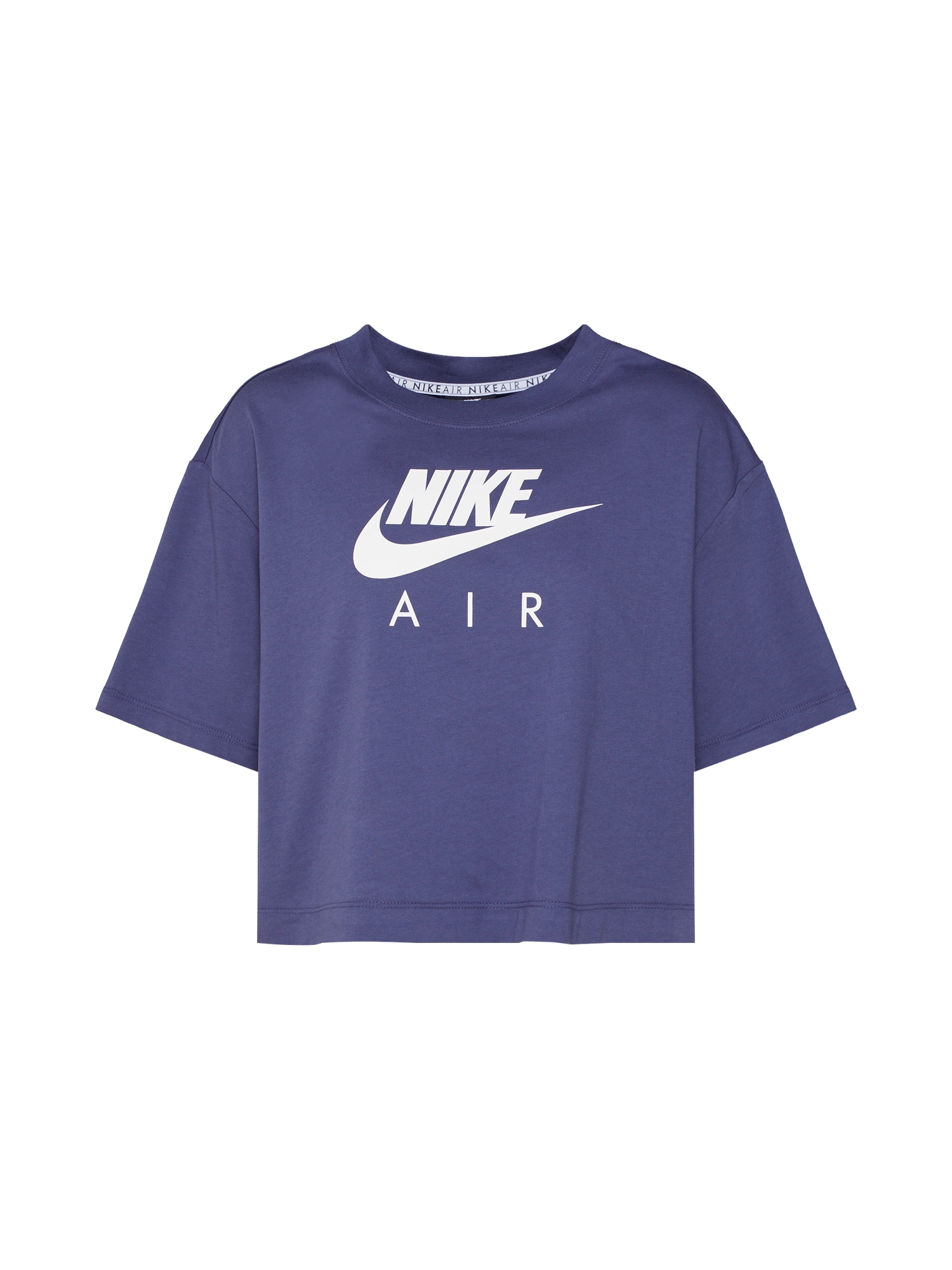 Tričko tmavě fialová bílá Nike Sportswear