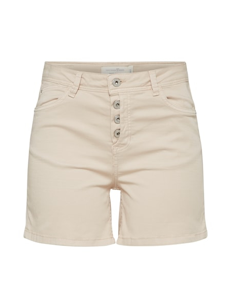 Hosen für Frauen - TOM TAILOR DENIM Shorts beige  - Onlineshop ABOUT YOU