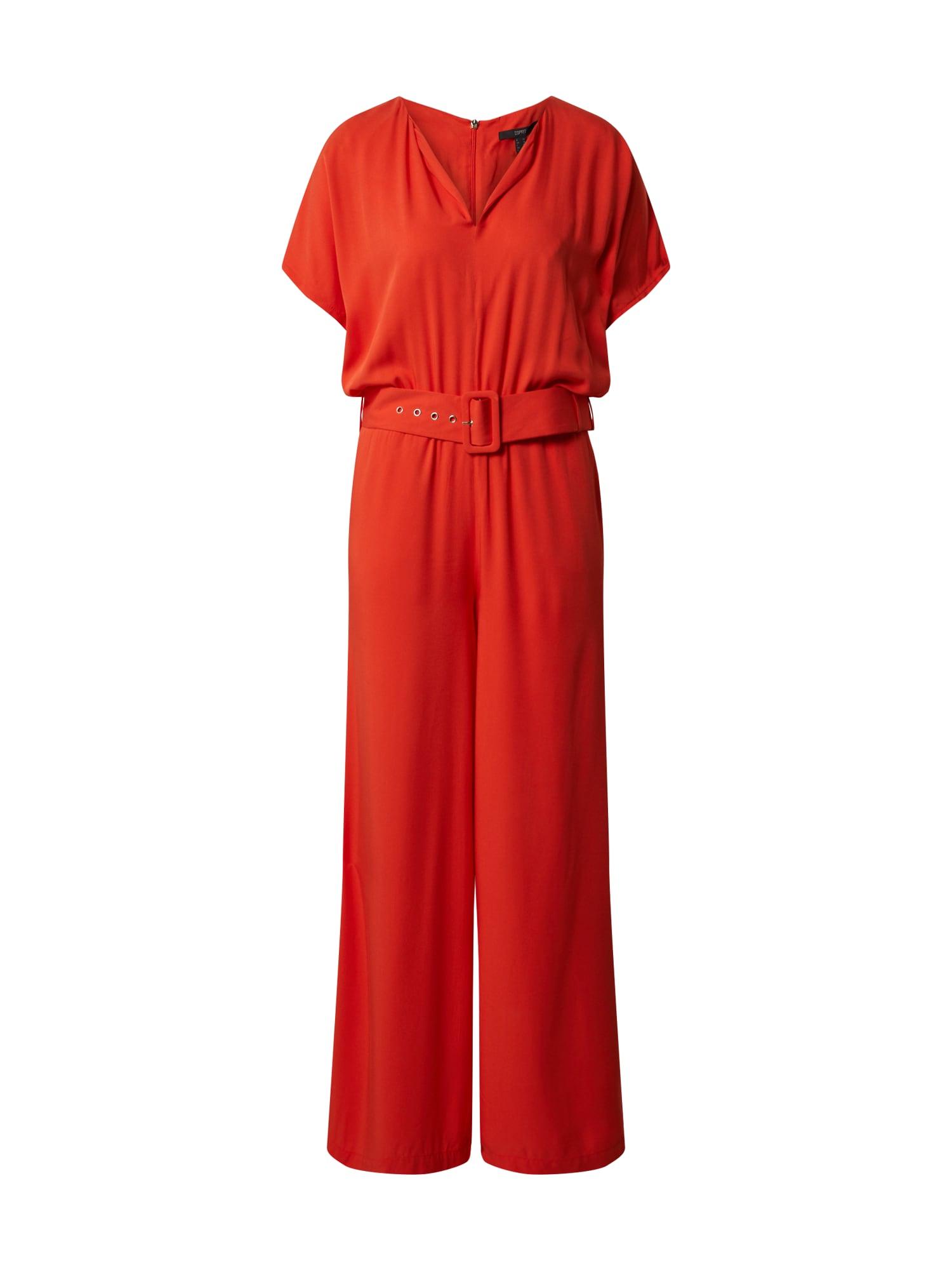 Esprit Collection Kombinezono tipo kostiumas oranžinė-raudona
