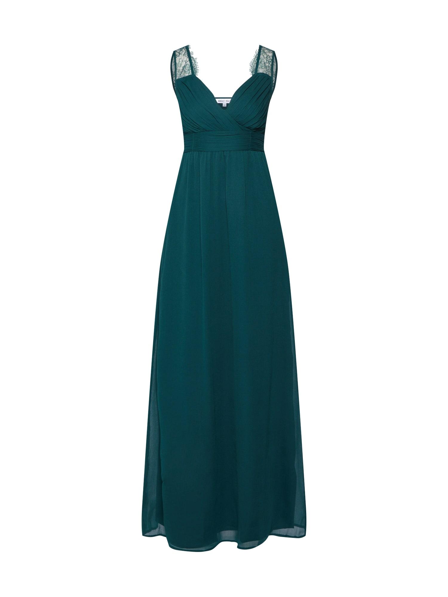 ABOUT YOU Vakarinė suknelė 'Luciana' žalia