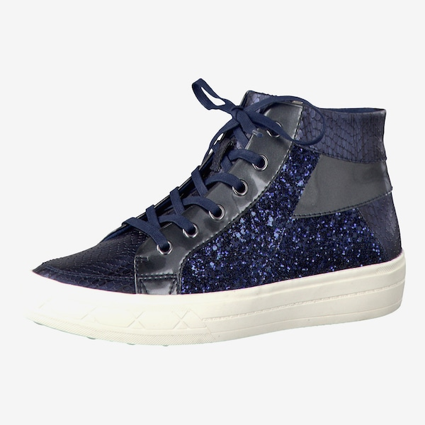 tamaris sneaker high in navy about you. Black Bedroom Furniture Sets. Home Design Ideas