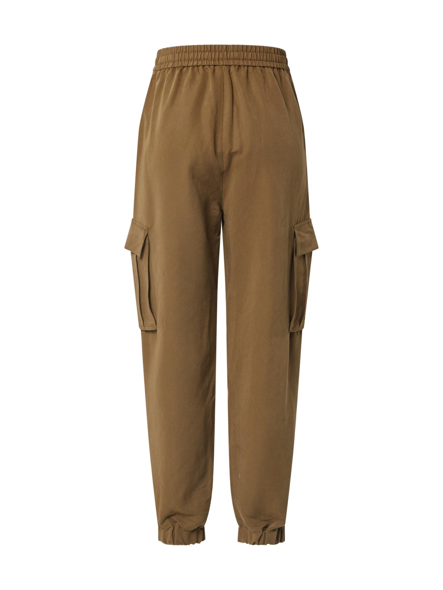 urban classics - Hose 'Ladies Viscose Twill Cargo Pants'