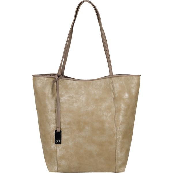 Shopper für Frauen - TOM TAILOR 'Mila Hawaii' Shopper beige  - Onlineshop ABOUT YOU