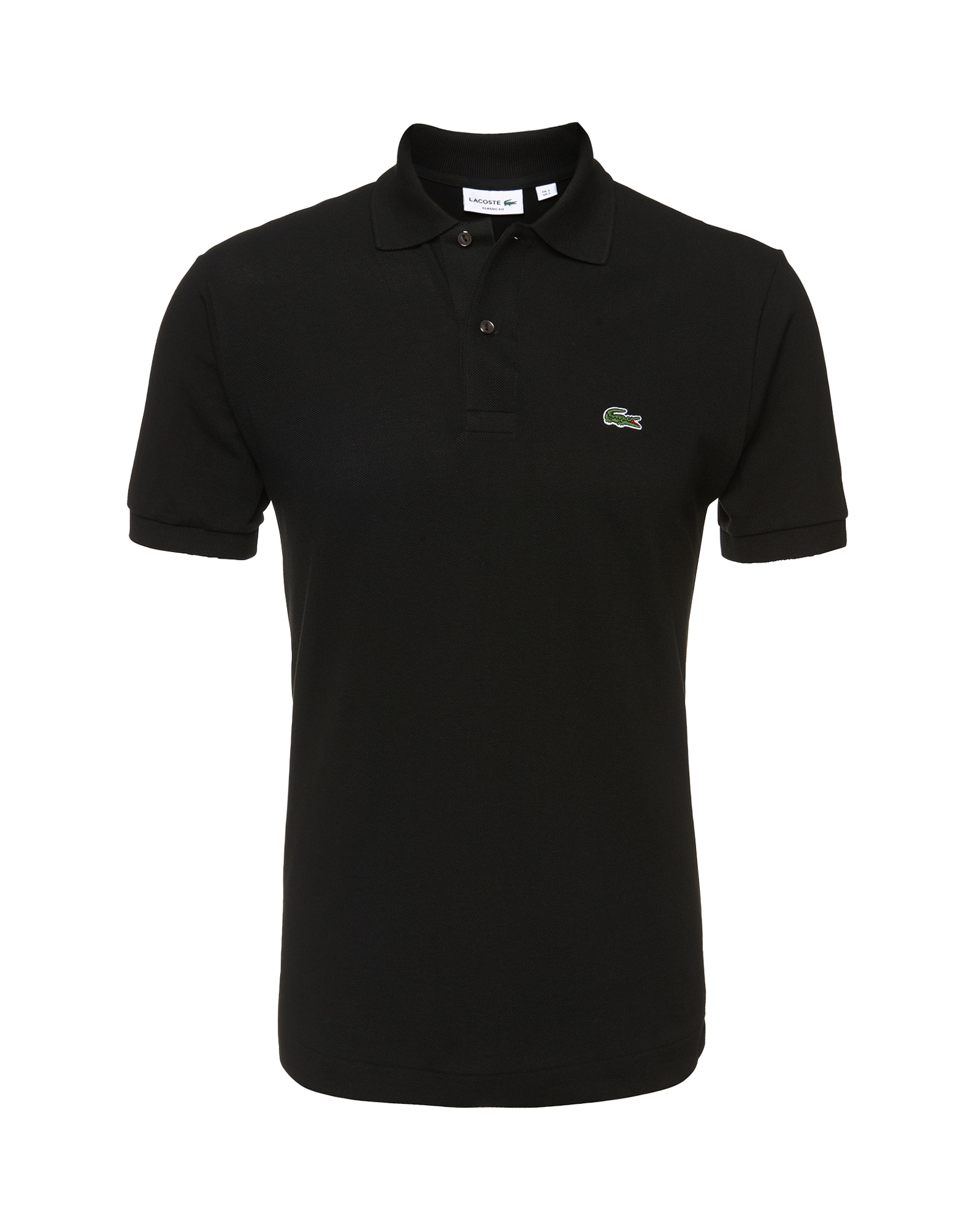 LACOSTE Marškinėliai juoda