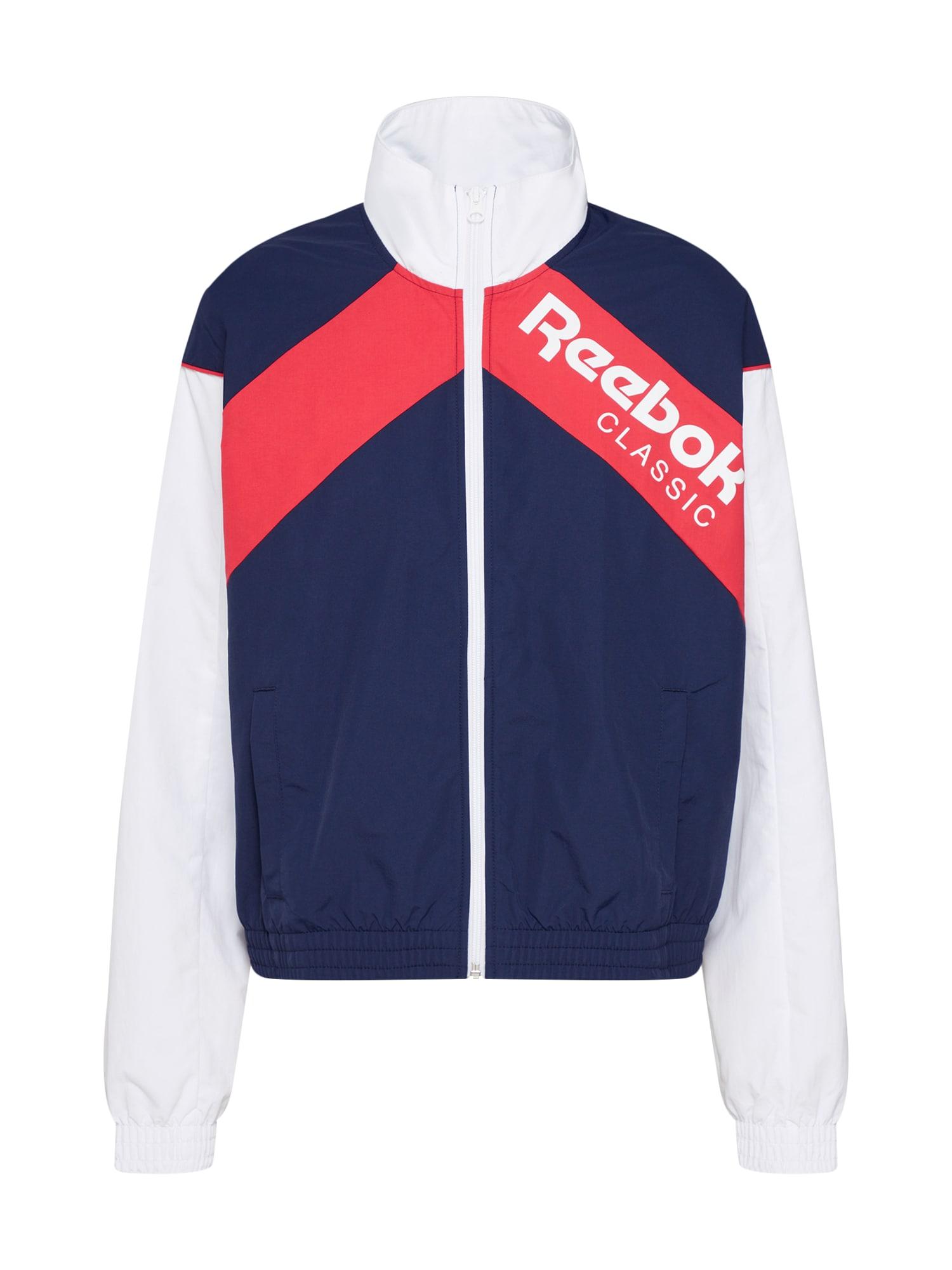 Přechodná bunda CL TRACKTOP námořnická modř červená bílá Reebok Classic