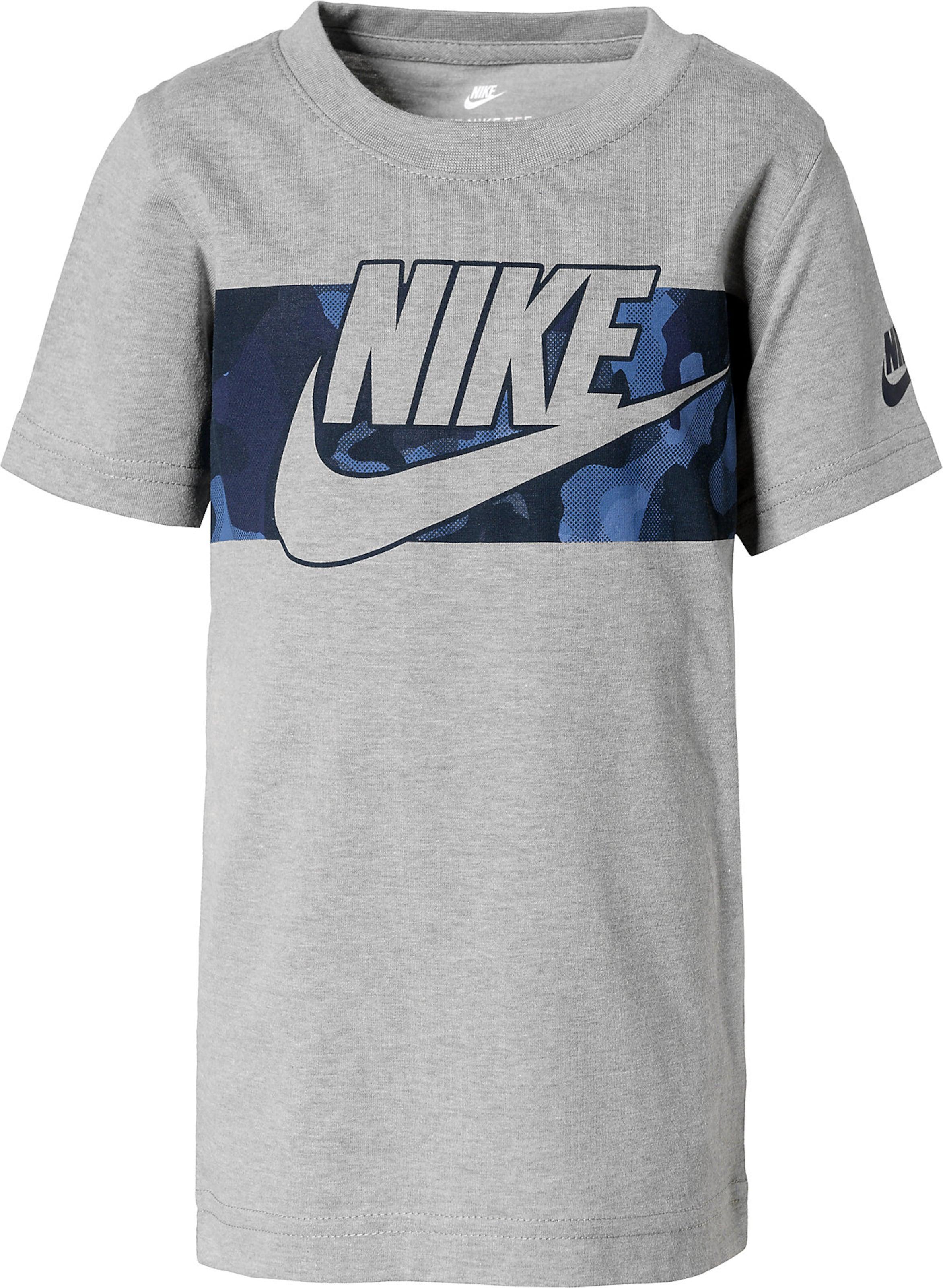 Jungen,  Kinder,  Kinder Nike Sportswear T-Shirt 'Futura' blau,  grau | 00633731210280
