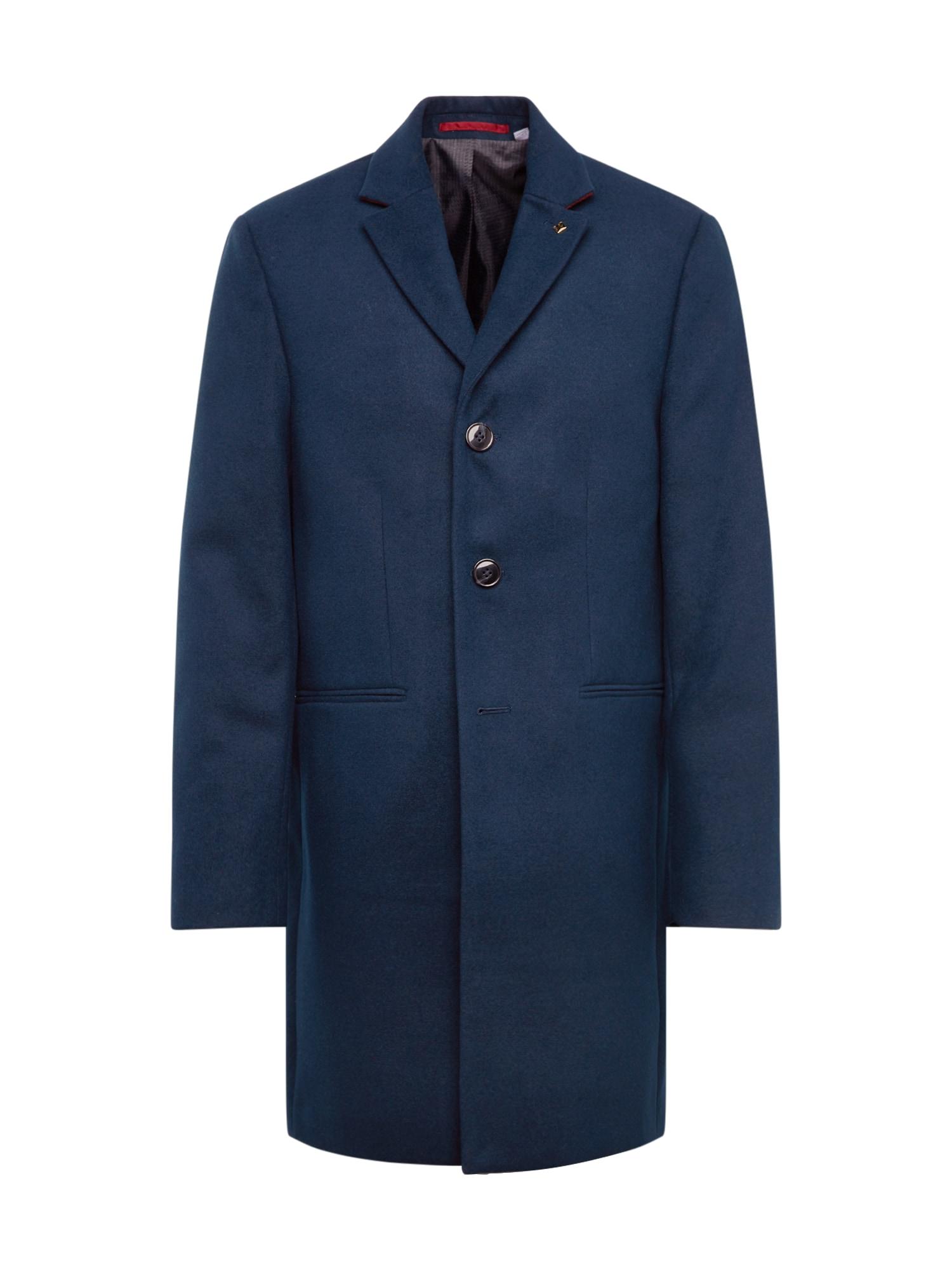 BURTON MENSWEAR LONDON Rudeninis-žieminis paltas 'rich' mėlyna