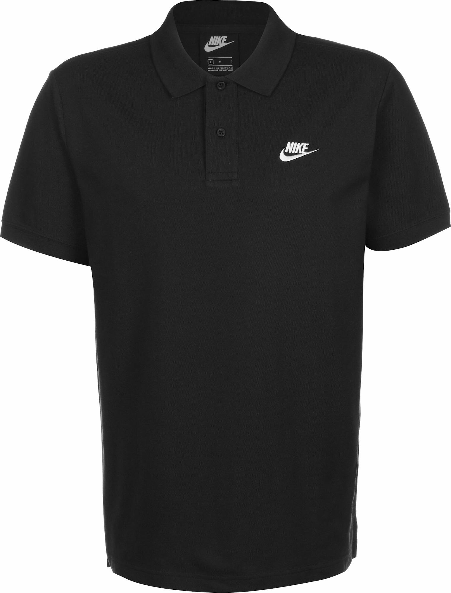 Nike Sportswear Sportiniai marškinėliai juoda