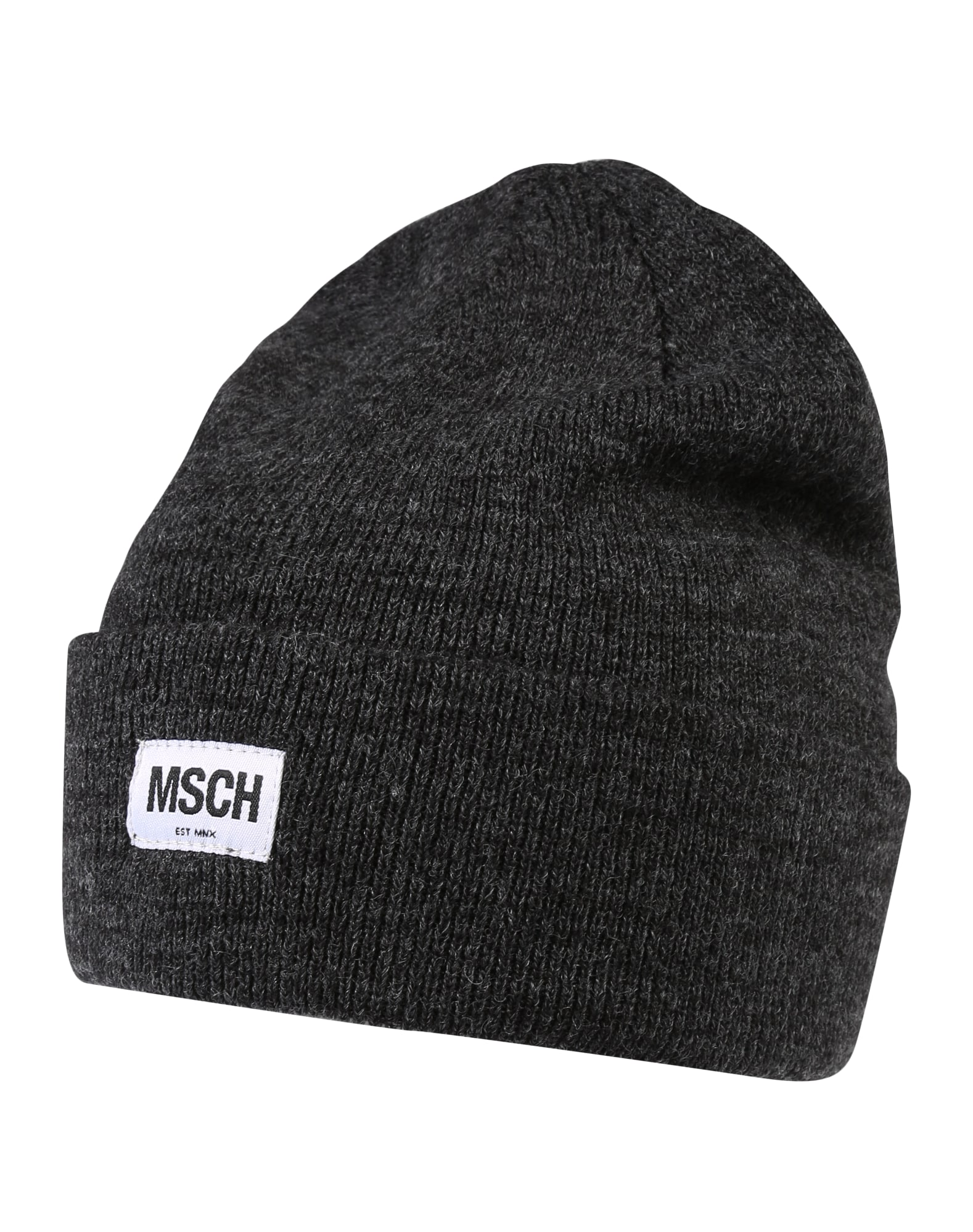 MOSS COPENHAGEN Megzta kepurė 'Mojo' tamsiai pilka