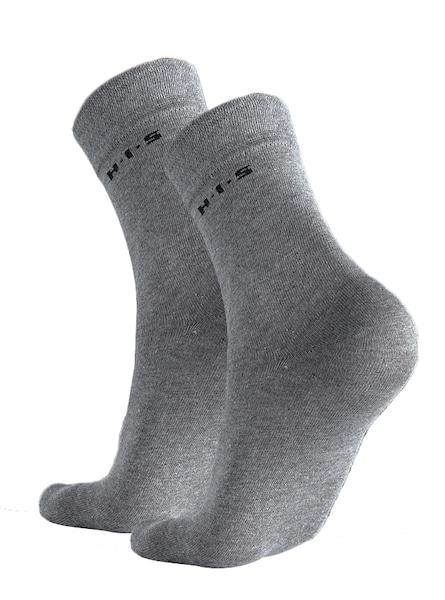 Socken für Frauen - H.I.S Socken grau schwarz weiß  - Onlineshop ABOUT YOU