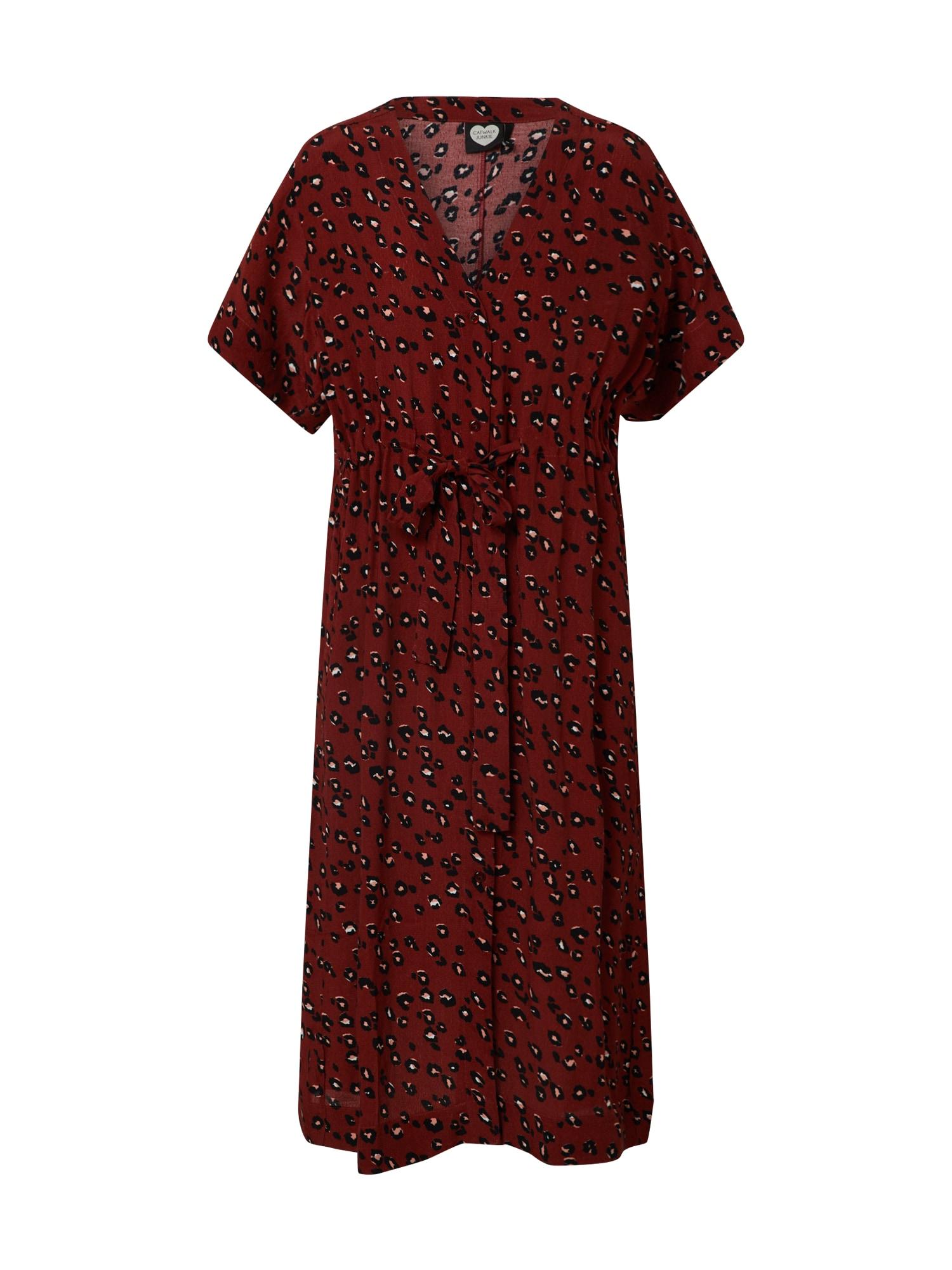 CATWALK JUNKIE Suknelė mišrios spalvos / rūdžių raudona