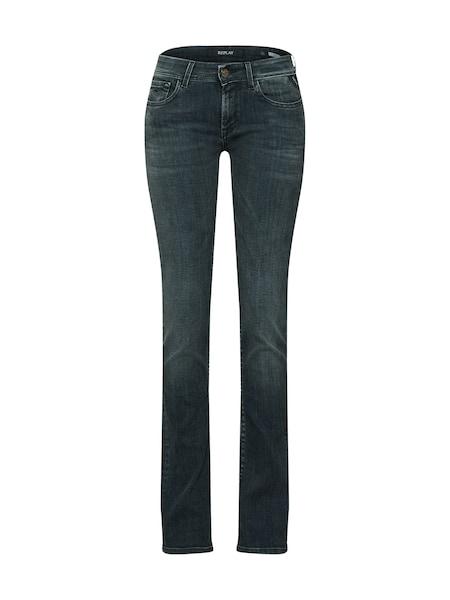 Hosen für Frauen - REPLAY Jeans 'Luz Bootcut' blue denim  - Onlineshop ABOUT YOU