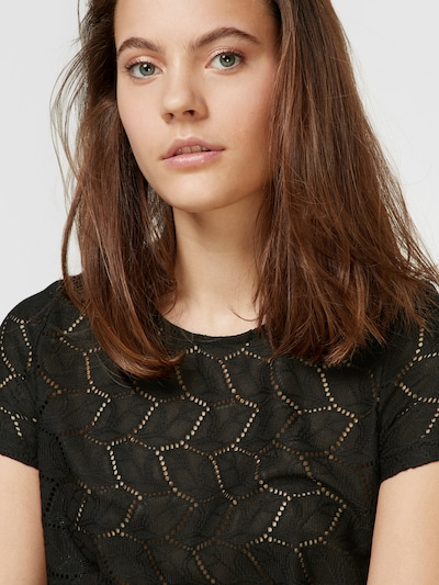 Jdy Tag Short Sleeve Lace Detail Top