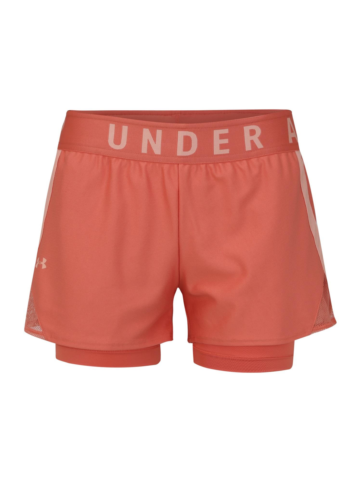 UNDER ARMOUR Sportinės kelnės oranžinė