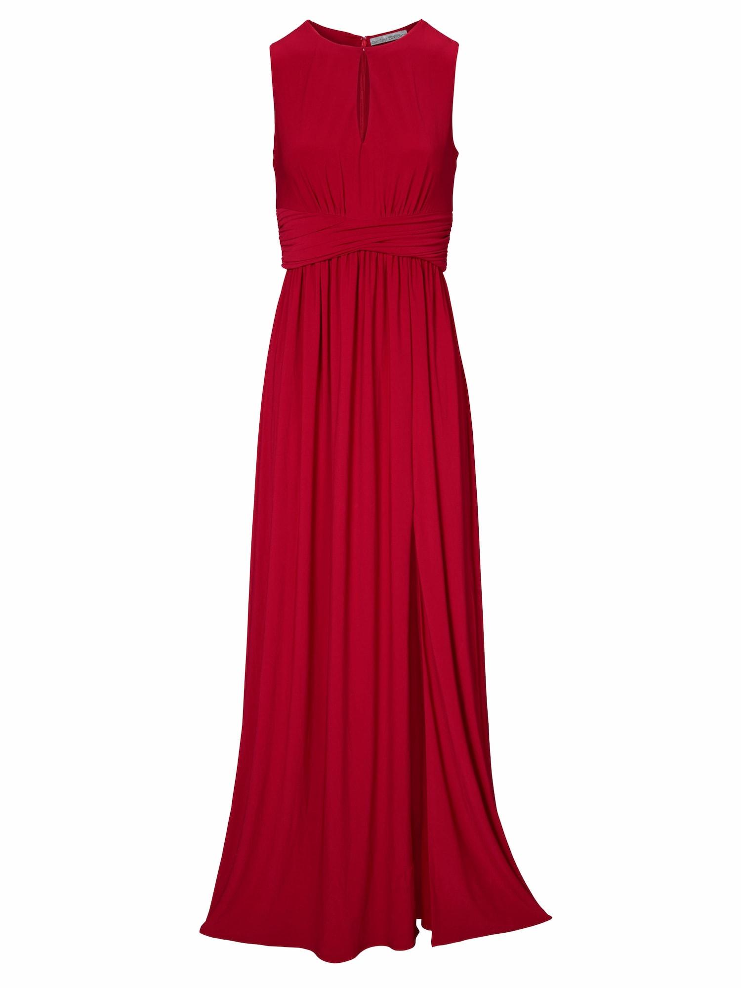 heine Večerné šaty  červené