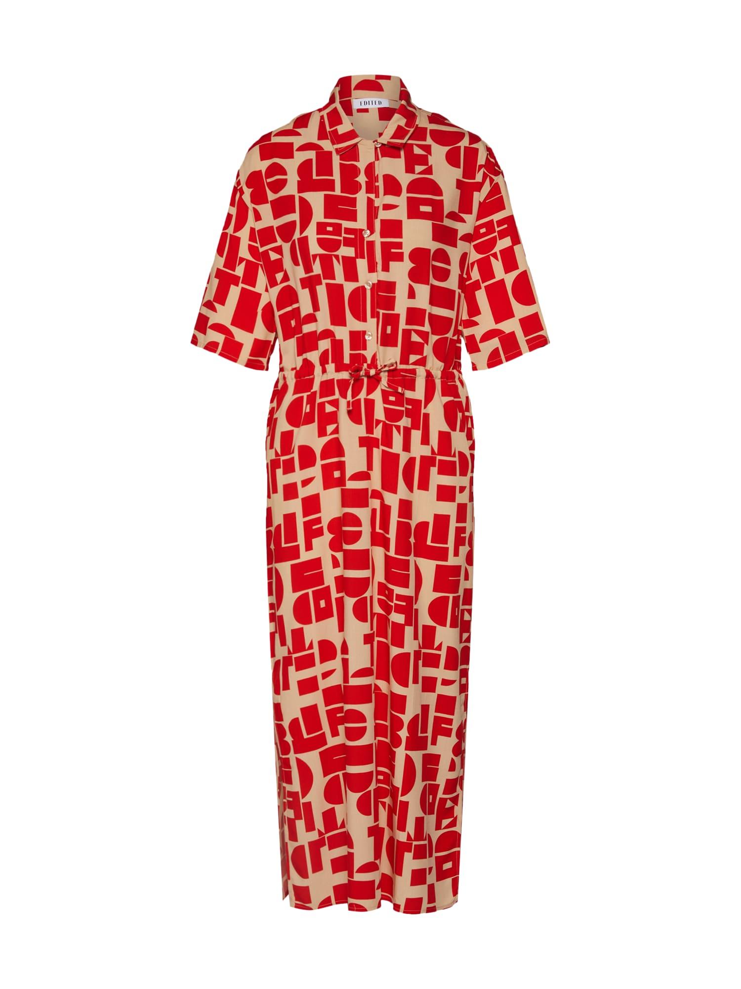 EDITED Suknelė 'Hester' smėlio / raudona