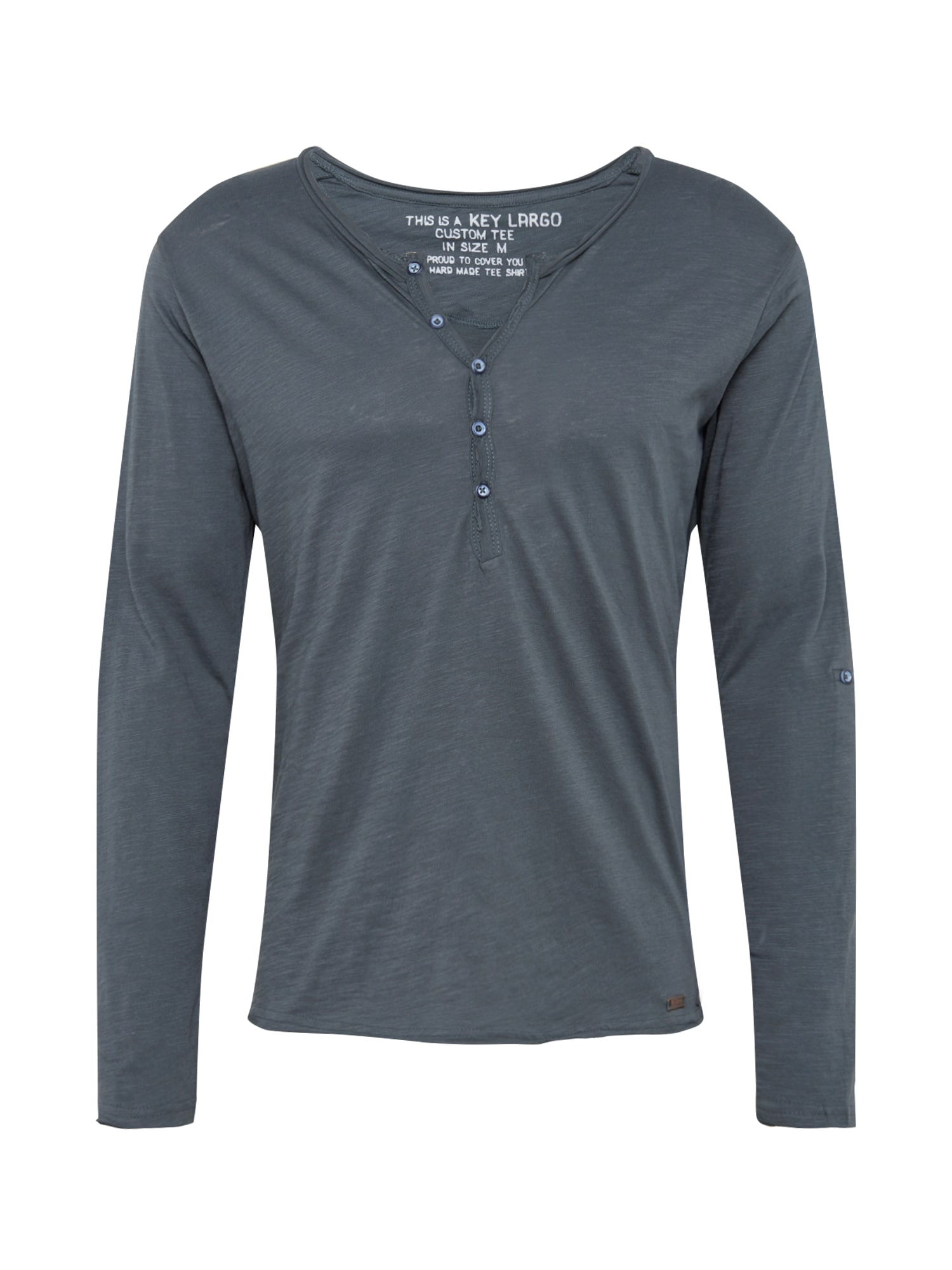 Key Largo Marškinėliai 'MLS00038' pilka
