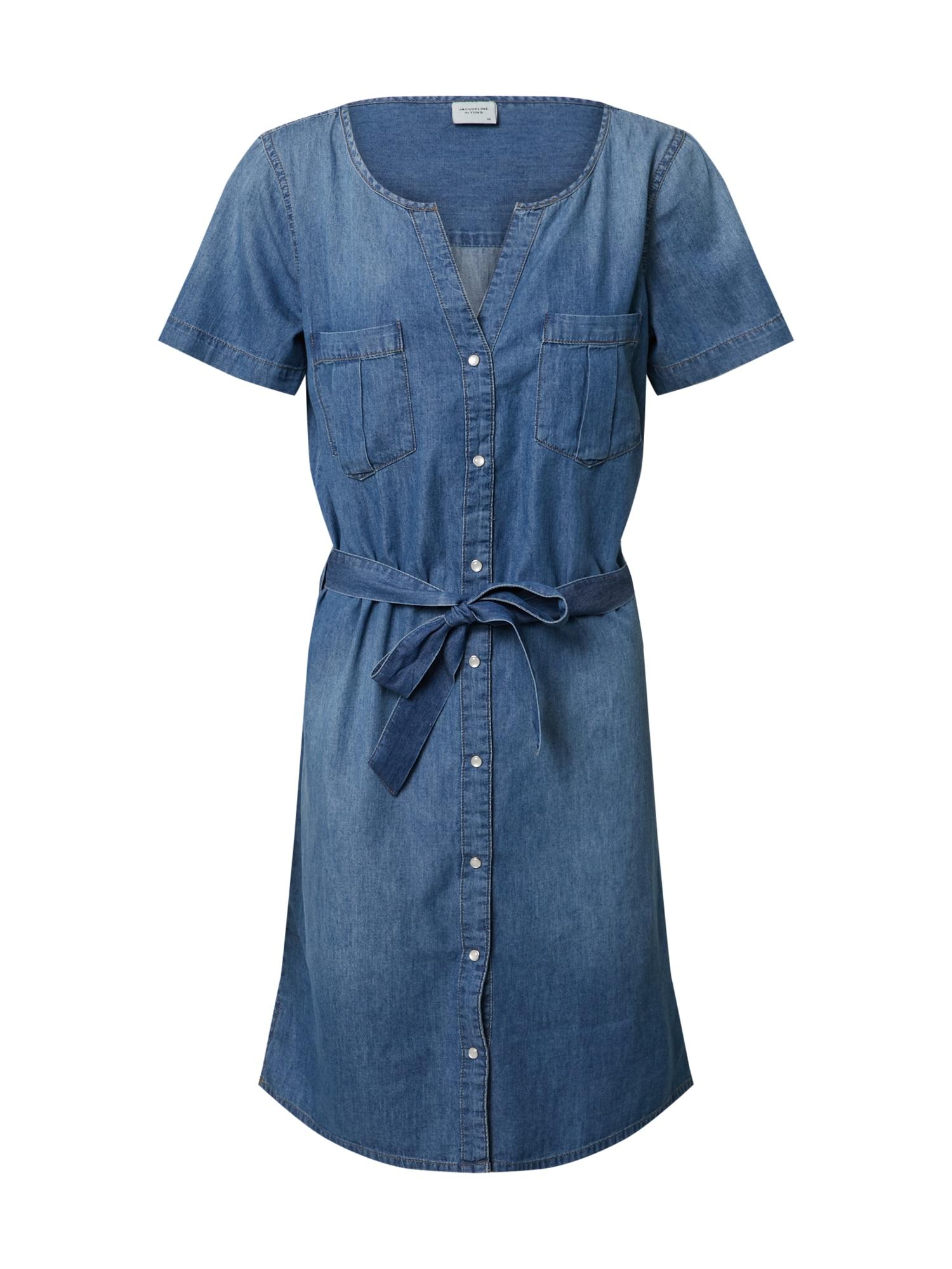 JACQUELINE de YONG Palaidinės tipo suknelė mėlyna