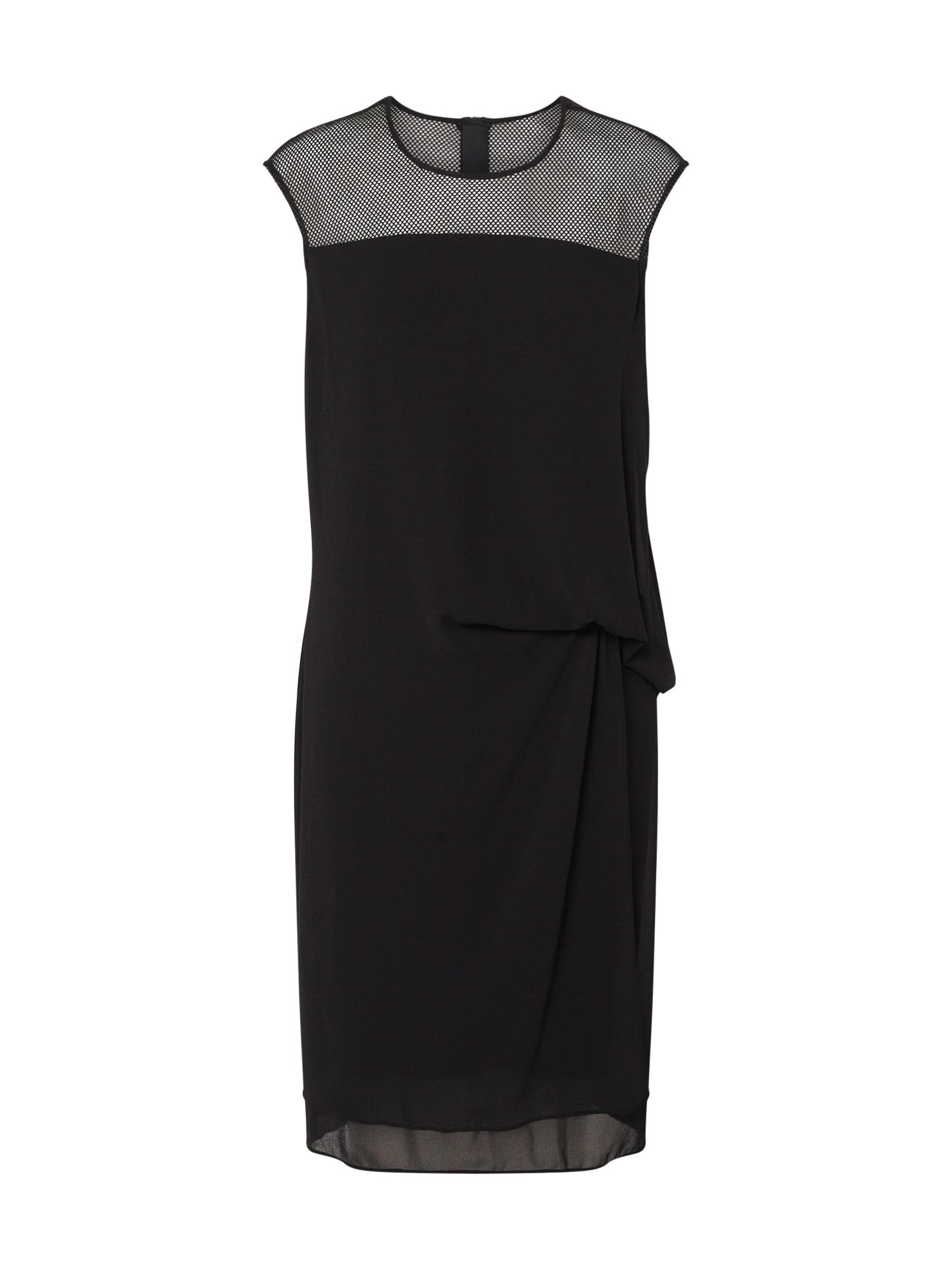 LAUREL Kokteilinė suknelė juoda