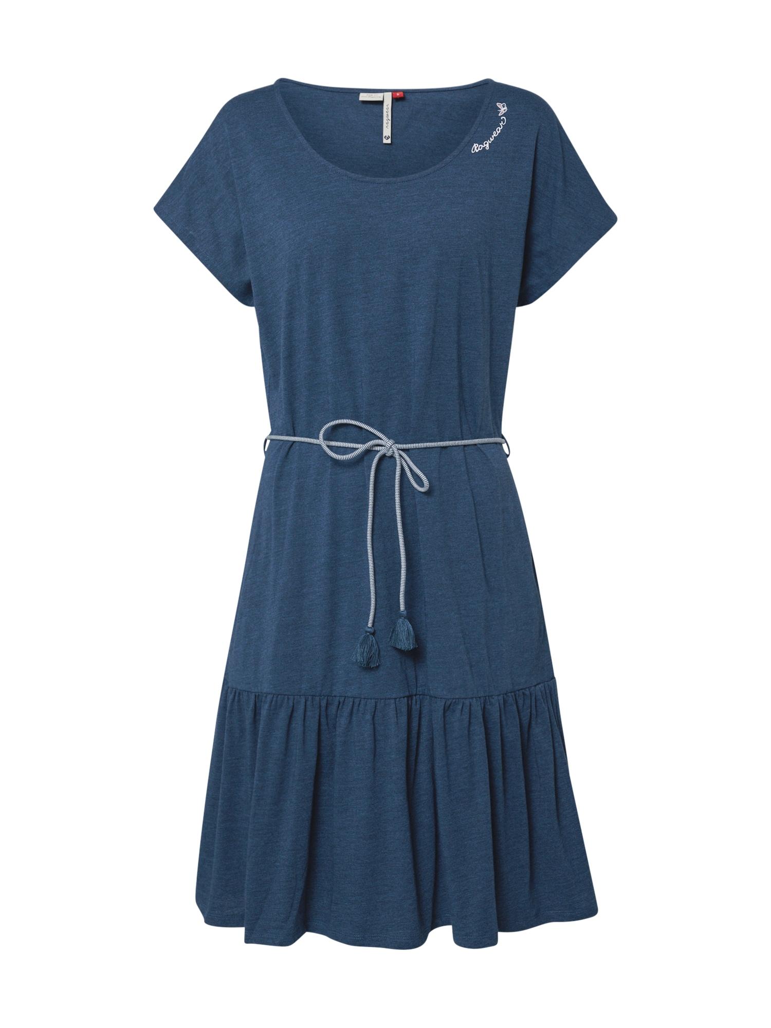 Ragwear Rochie de vară 'RIGATA'  denim albastru