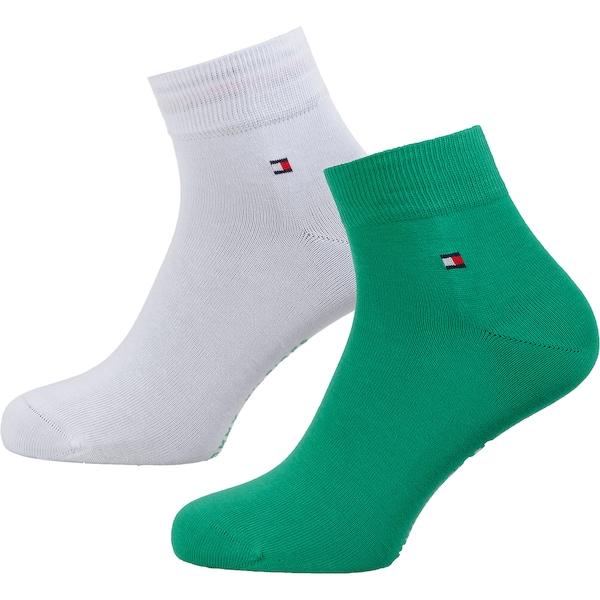 Socken für Frauen - TOMMY HILFIGER Socken grün  - Onlineshop ABOUT YOU