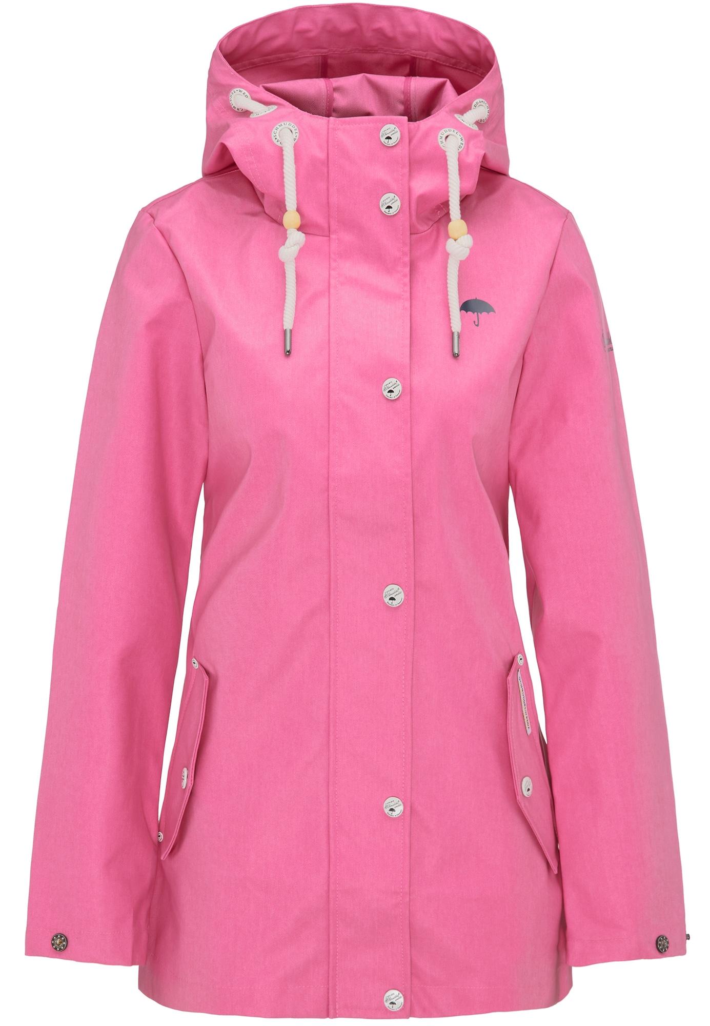 Přechodná bunda pink černá bílá Schmuddelwedda