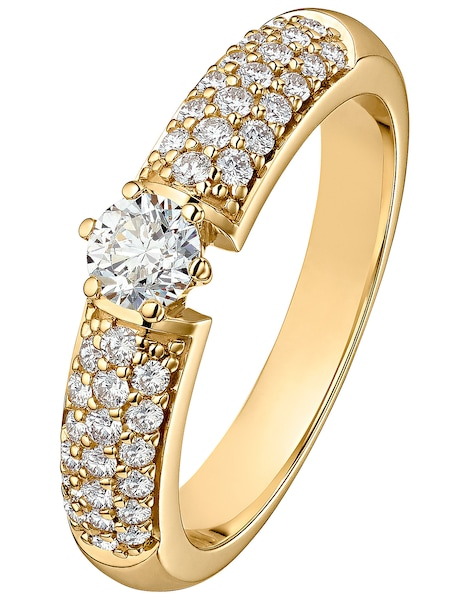 Ringe für Frauen - CHRIST Ring '60121761' gold  - Onlineshop ABOUT YOU