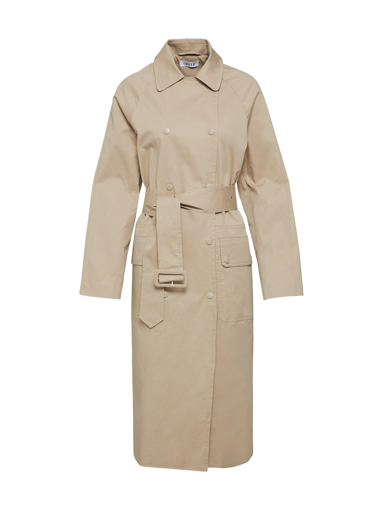 EDITED Rudeninis-žieminis paltas 'Janne' smėlio / kupranugario