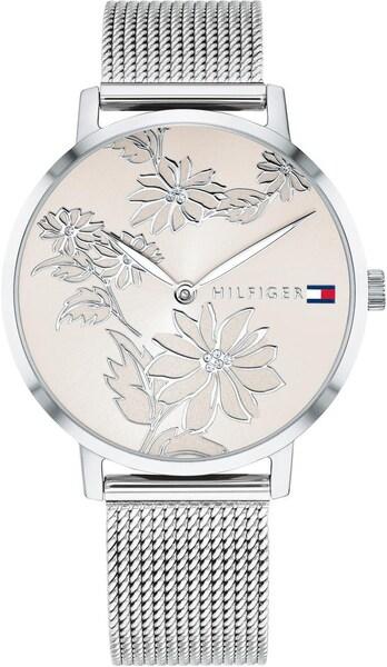 Uhren für Frauen - TOMMY HILFIGER Quarzuhr 'CASUAL' champagner silber  - Onlineshop ABOUT YOU