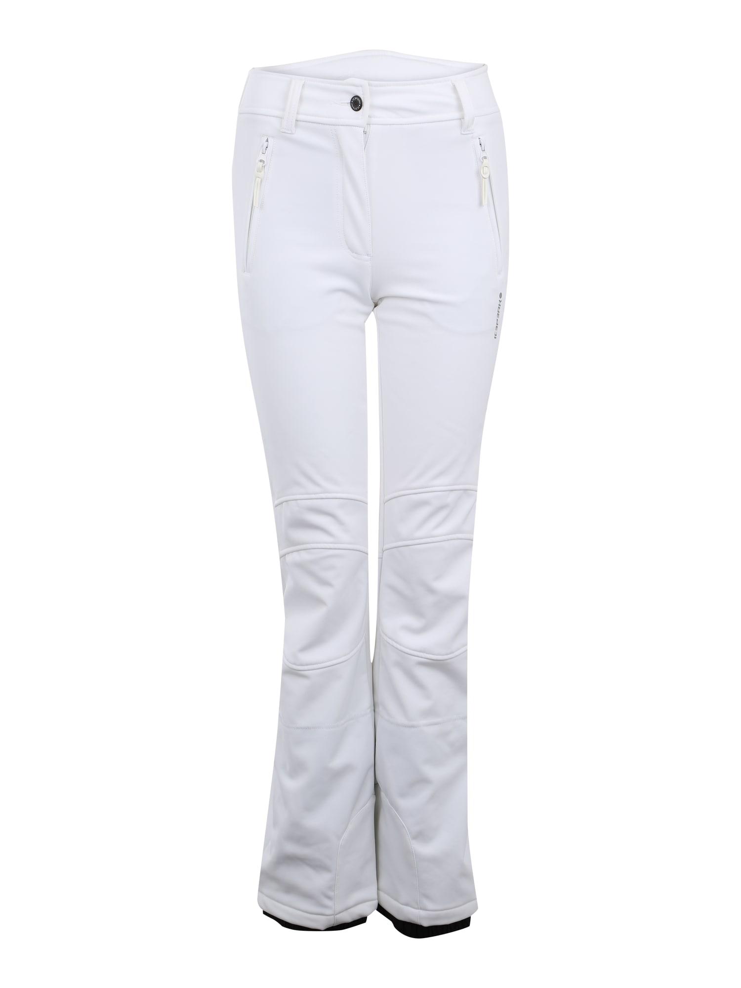 ICEPEAK Outdoorové kalhoty 'OUTI'  bílá
