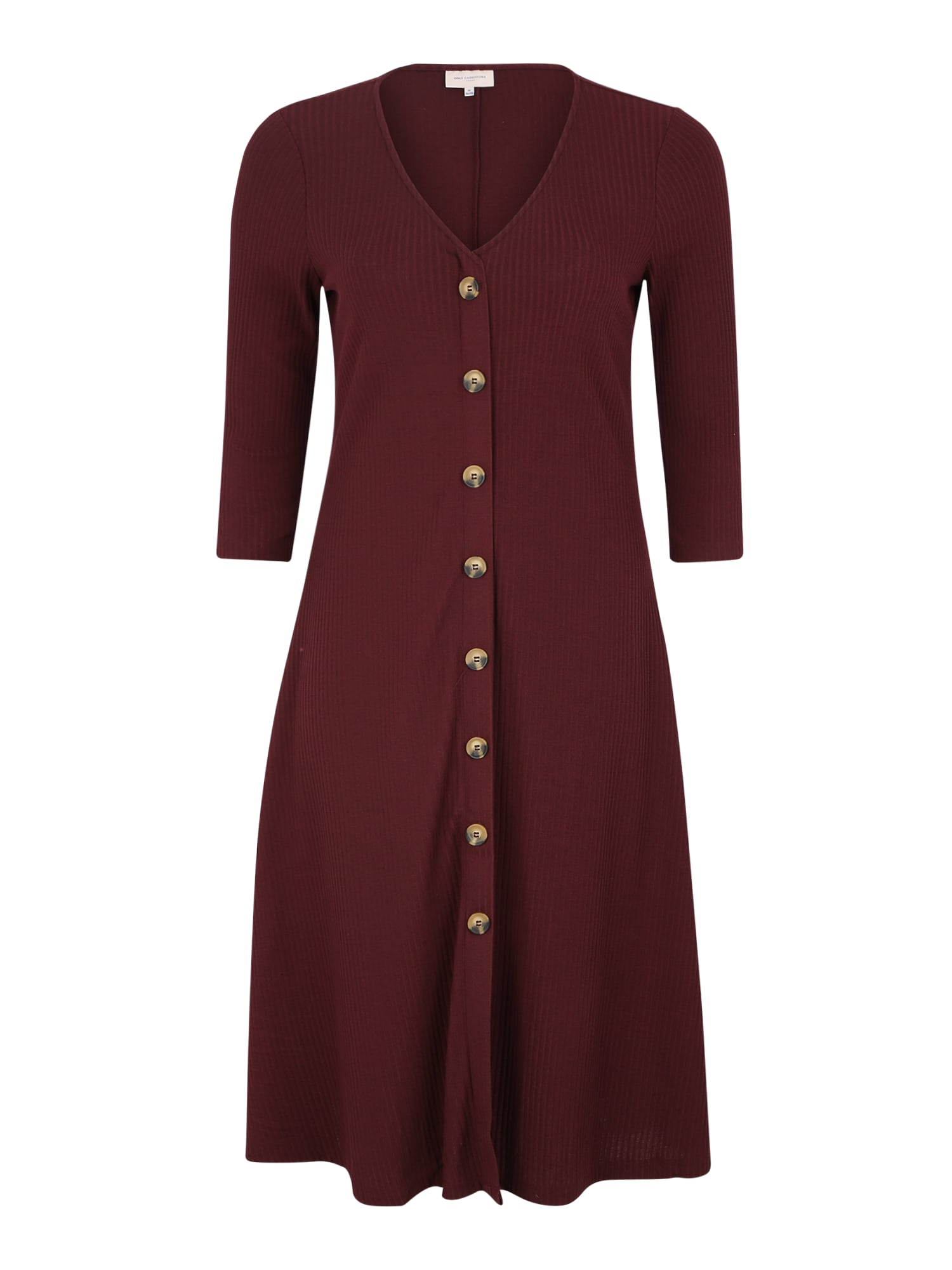 ONLY Carmakoma Megzta suknelė vyno raudona spalva