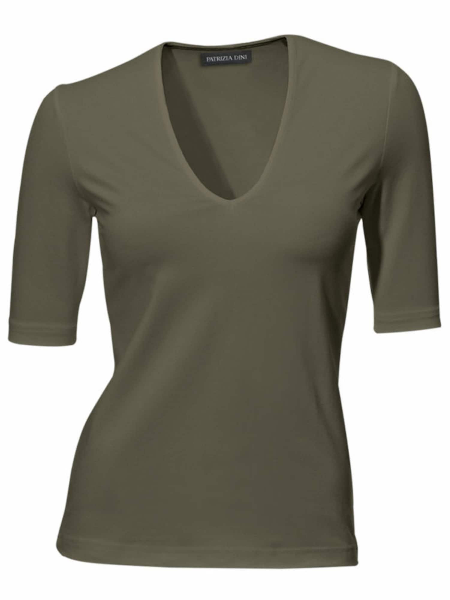 Ashley Brooke by heine Marškinėliai alyvuogių spalva