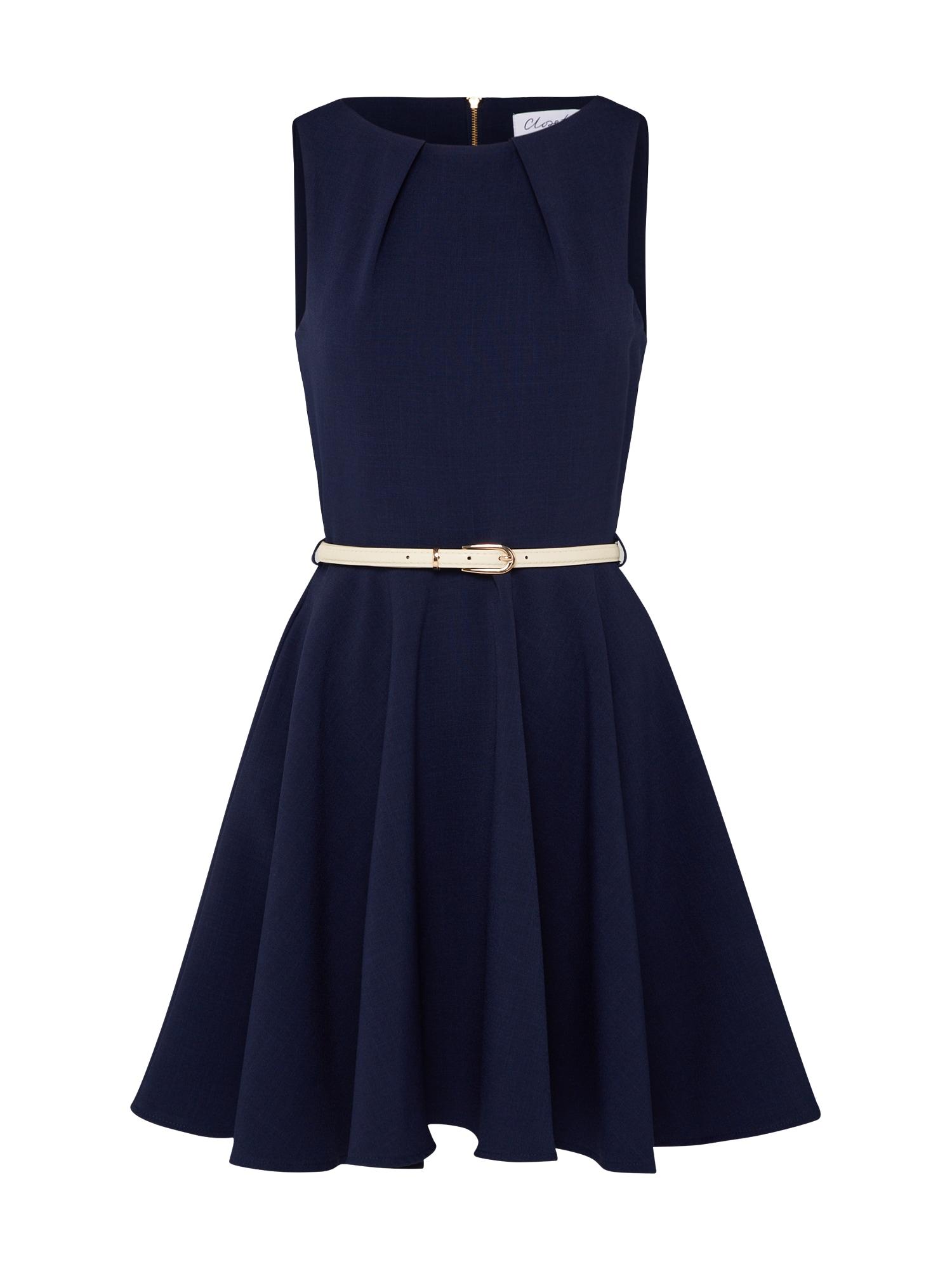Closet London Kokteilinė suknelė tamsiai mėlyna