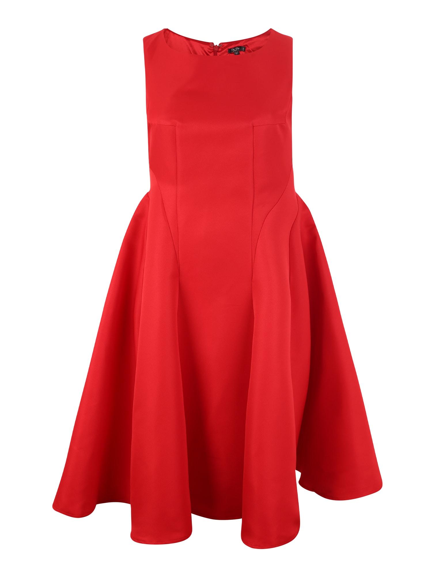 Šaty AMBIE červená Chi Chi Curve