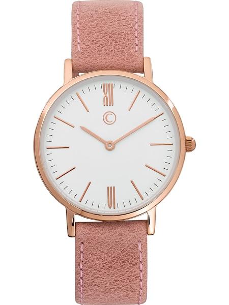Uhren für Frauen - C Collection Uhr rosa weiß  - Onlineshop ABOUT YOU