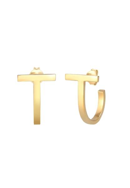 Ohrringe - Ohrringe Creole, Geo, Stab › ELLI › gold  - Onlineshop ABOUT YOU