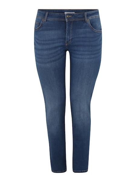 Hosen - Jeans 'basic slim leg denim Denim Long 1 1 2' › MY TRUE ME › blue denim  - Onlineshop ABOUT YOU