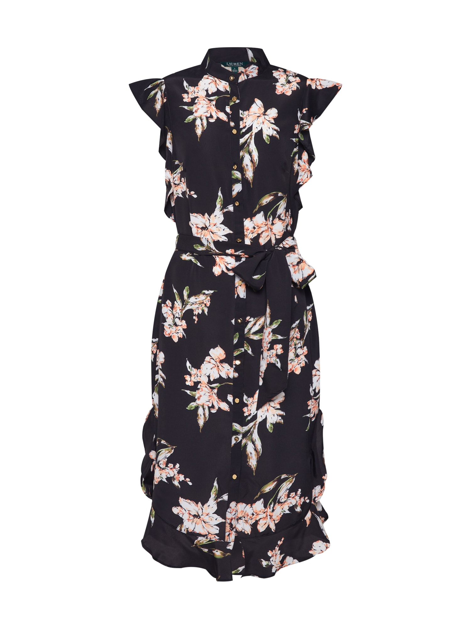Lauren Ralph Lauren Košilové šaty 'WINDELLE'  černá