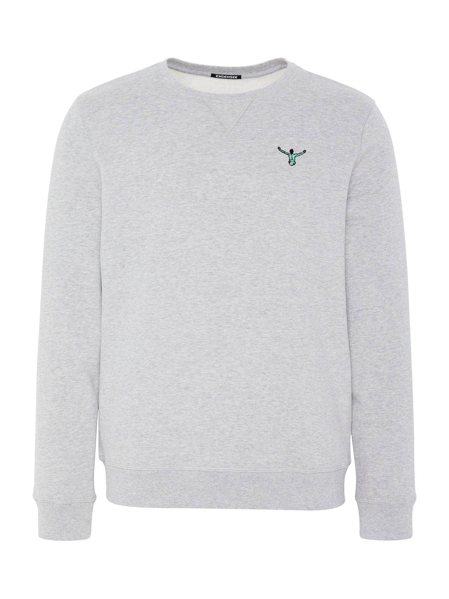 CHIEMSEE Sportinio tipo megztinis mėlyna / pilka